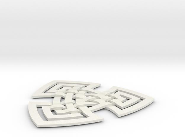 Trifoil 3d printed