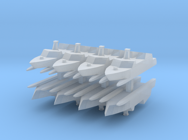 Type 022 1:2400 x8 in Smooth Fine Detail Plastic