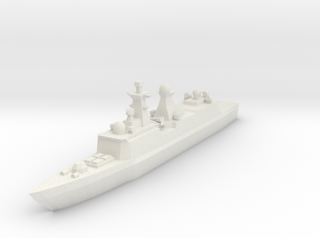 Type 054A 1:2400 in White Natural Versatile Plastic