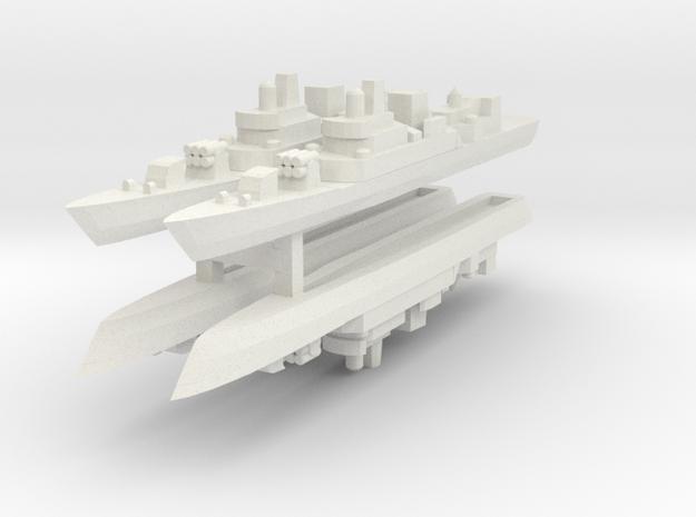053H 1:3000 x4 in White Natural Versatile Plastic