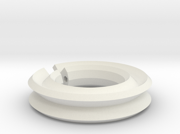 Plastic Support Ring 3d printed