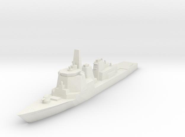 Kongo 1:3000 x1 in White Natural Versatile Plastic