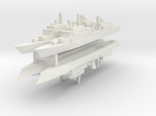 KDX-I 1:3000 x4 3d printed