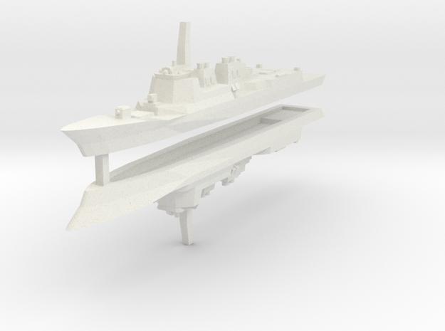 KDX-III 1:3000 x2 in White Natural Versatile Plastic