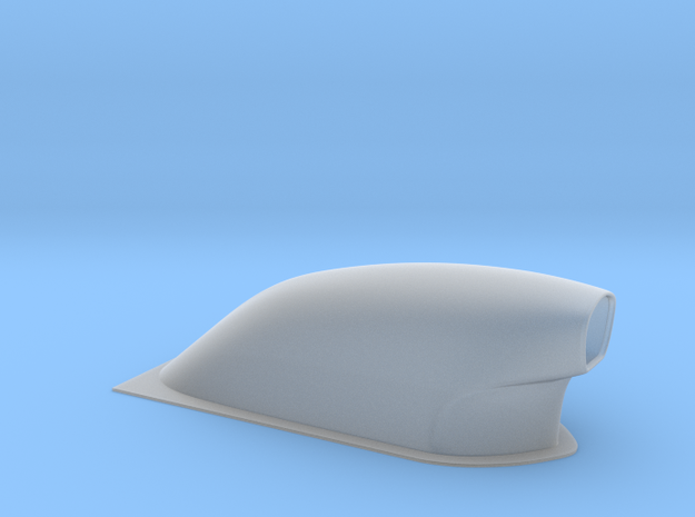 1/12 scale Pro Modified Hood Scoop in Smooth Fine Detail Plastic