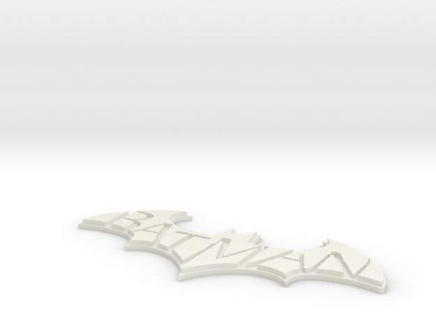 Arkham logo 3d printed