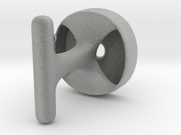 Simple Cuff in Metallic Plastic