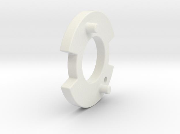 Bugaboo Gen 1&2 Locking Disk Left Side in White Natural Versatile Plastic
