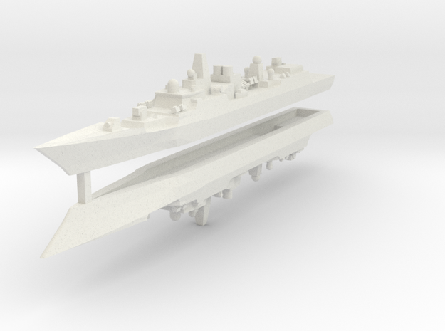 Type 052B 1:2400 x2 3d printed