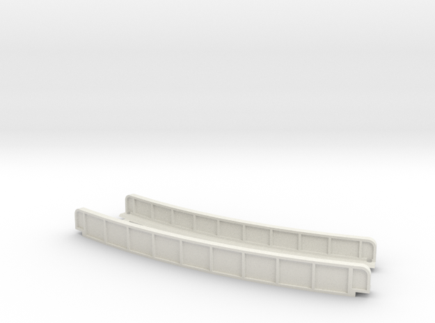 CURVED 245mm 30° SINGLE TRACK VIADUCT 3d printed