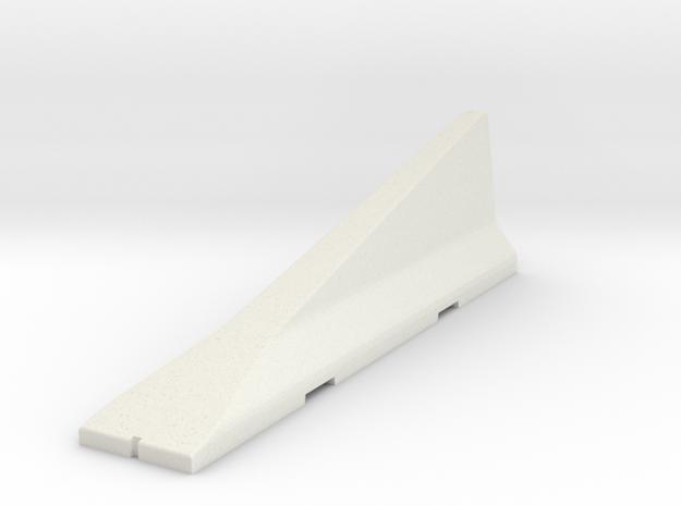 02.041.001_Betonschutzwand New-Jersey-Profil-Absen in White Natural Versatile Plastic
