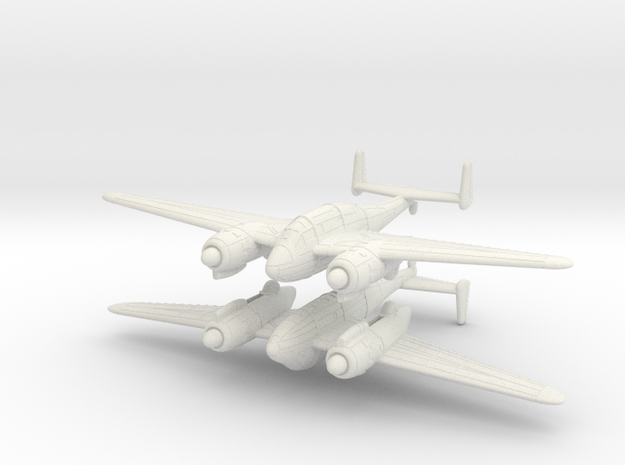 1/200 Breguet Br.693 (x2) in White Strong & Flexible