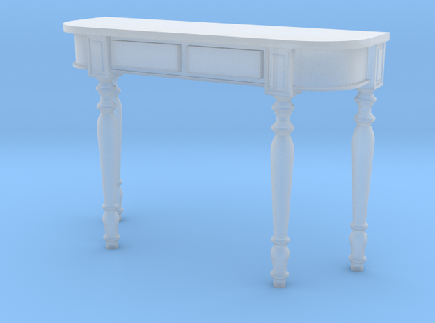 1:36 Colonial Console Table 3d printed