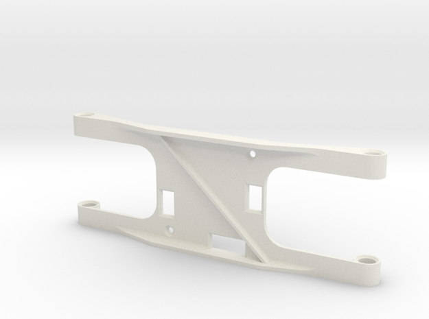 FLIP FPV Camera Mount in White Natural Versatile Plastic