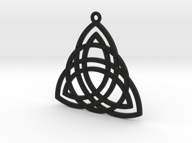 Triquetra small 3d printed