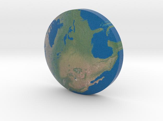 Omni Globe Usa in Full Color Sandstone