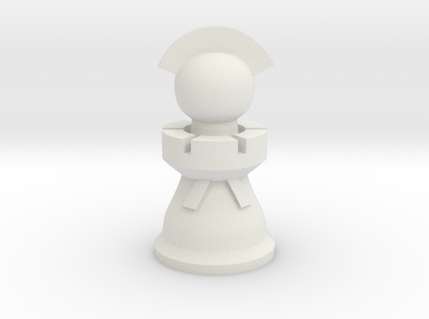 Captain for Spartan Chess™ 3d printed