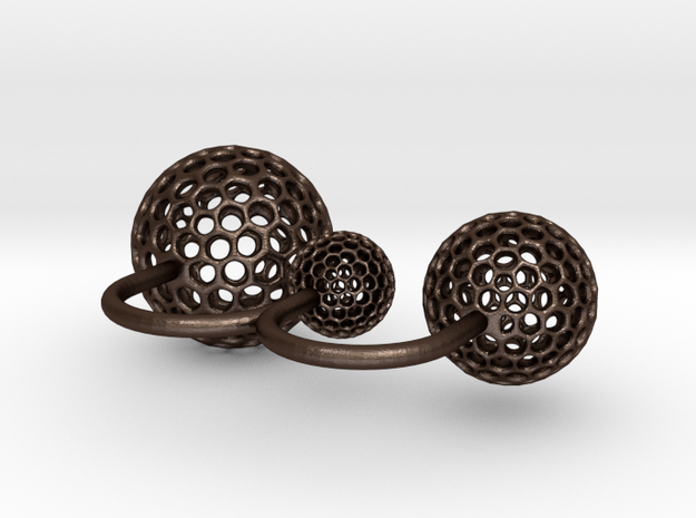 planetary double ring 3d printed