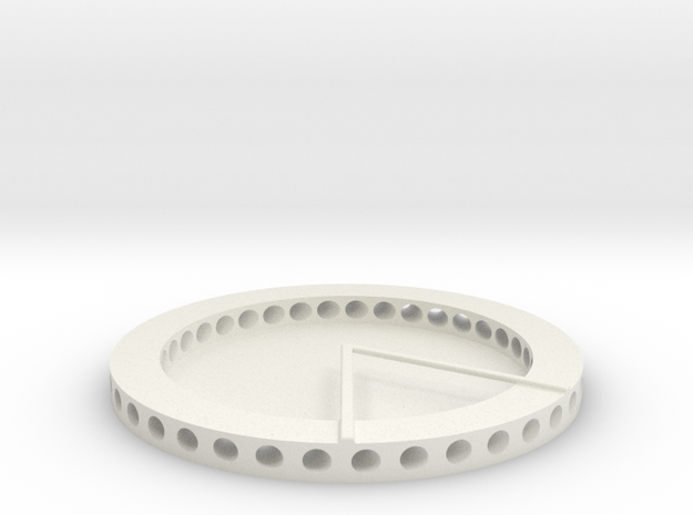Stator in White Natural Versatile Plastic