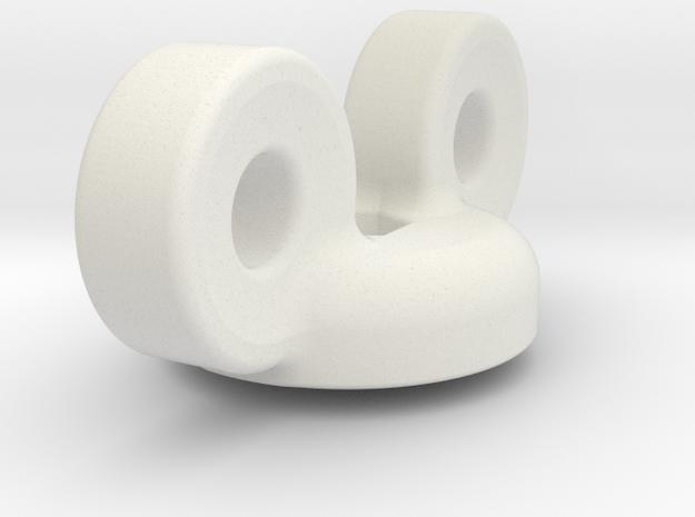 Plugtool in White Natural Versatile Plastic