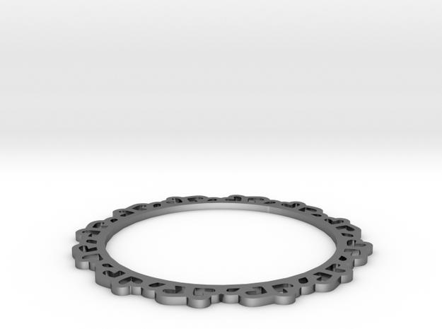 Small Heart Bracelet 3d printed