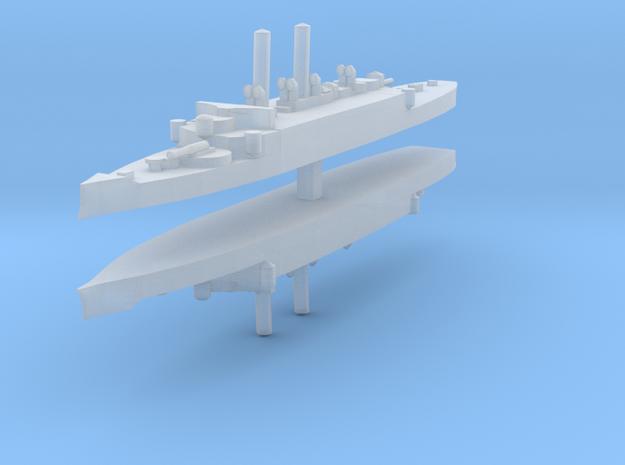 USS Atlanta (1884) 1:2400 x2 3d printed