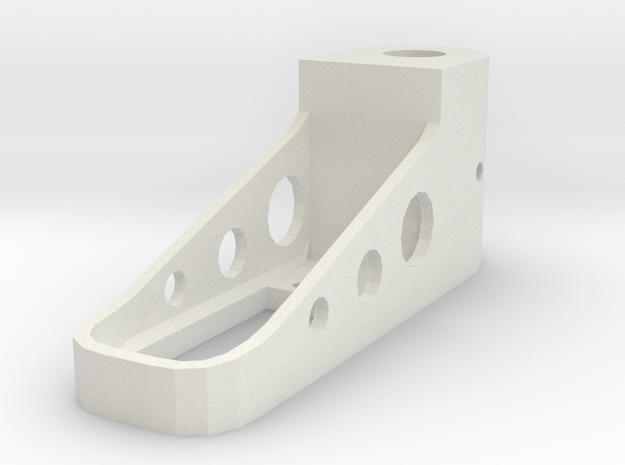 Tpac Servomount Mm Surface 12 in White Natural Versatile Plastic