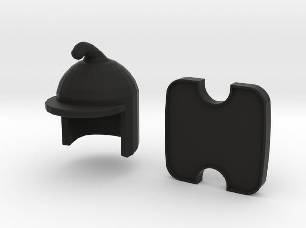 Phrygian Helmet & Shield 3d printed