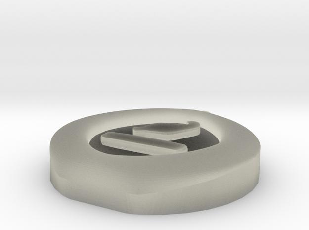 4 Elements - Earth Pendant 3d printed