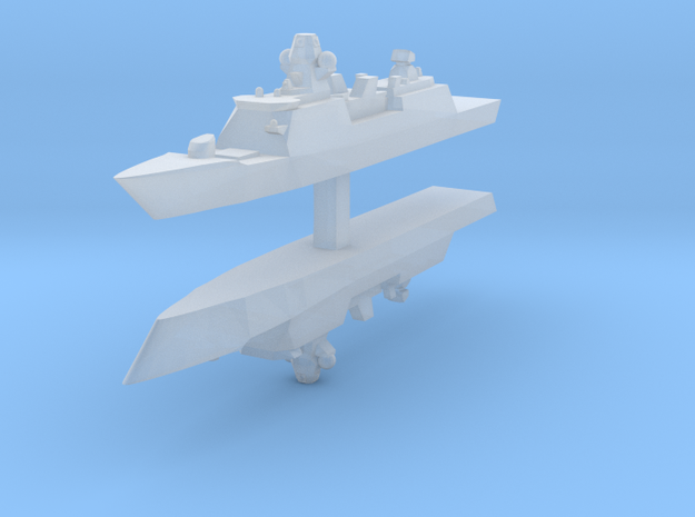 De Zeven Provinciën class frigate 1:4800 x2 in Frosted Ultra Detail