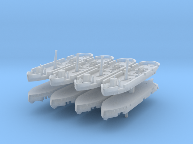 Dapper Class Gunboat 1:1200 in Frosted Ultra Detail