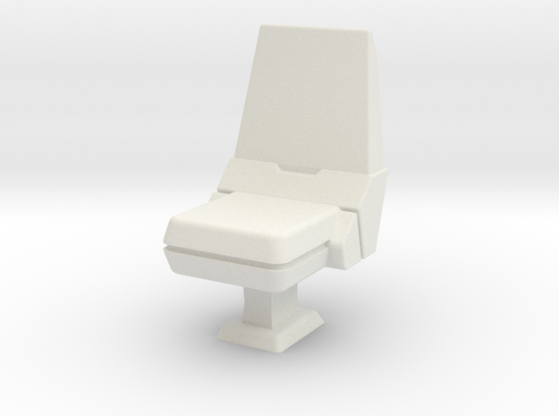 CP03 Bridge Operator's Chair (28mm) in White Natural Versatile Plastic