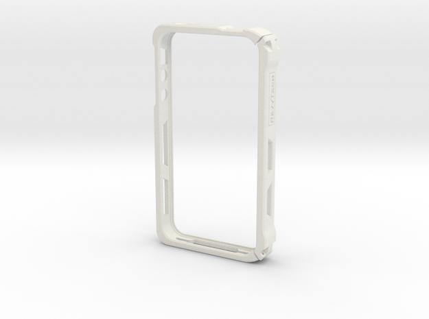 IPhone 4s Case (2 Part) in White Natural Versatile Plastic