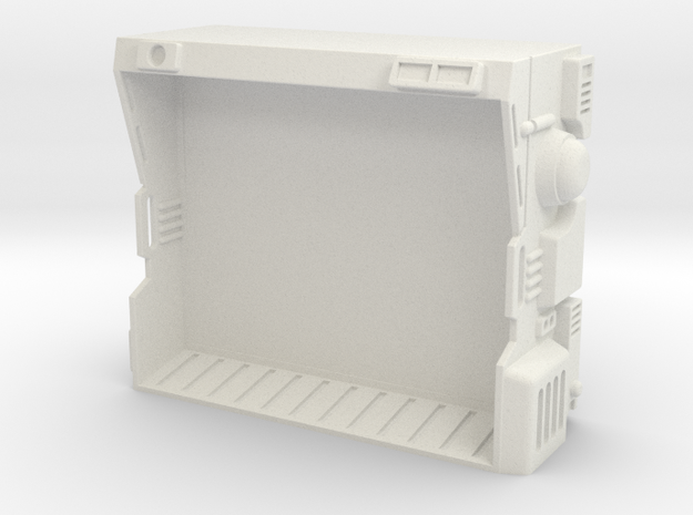 CP06 Sensor Display Tank (28mm) in White Natural Versatile Plastic
