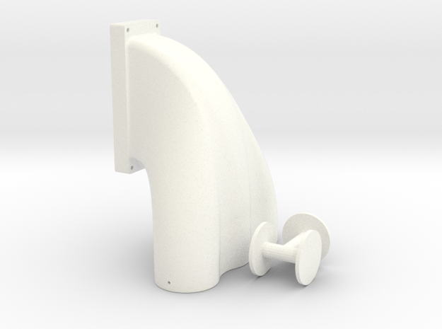 1/8 3 Equal Hole Inj Hat 14-71 Kobelco Blower 3d printed