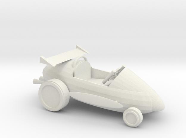 soapracer in White Natural Versatile Plastic