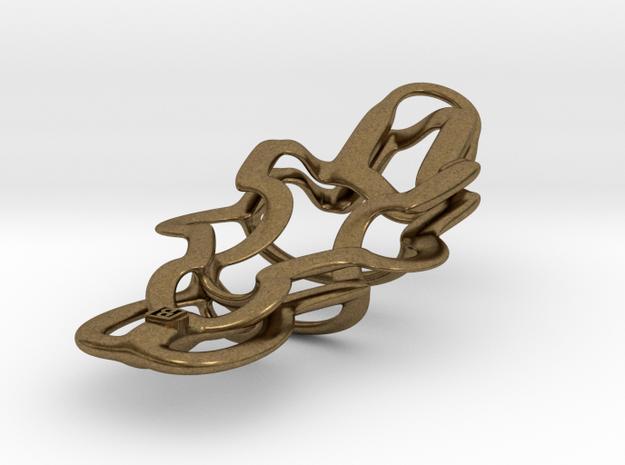 Alien Artifact Pendant - 50mm 3d printed