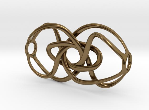 Expanding Knot - Pendant 3d printed