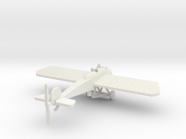 Fokker EIV & pilot 1/144th scale  in White Natural Versatile Plastic