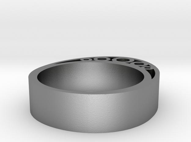 Secret Egg Ring (Large) 3d printed