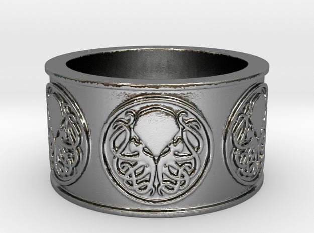 Ph'nglui mglw'nafh Cthulhu R'lyeh Ring #1, Size 12
