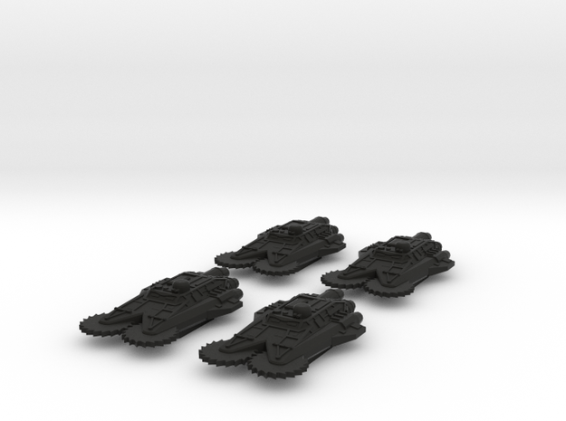 BFG Scrap Fleet Ram Ships Mk2 (x4) 3d printed