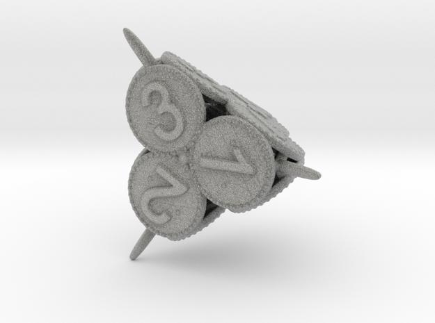 Swords and Shields D&D Dice set D4 3d printed