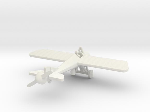 Morane Saulnier N & pilot 1/144th scale  in White Natural Versatile Plastic
