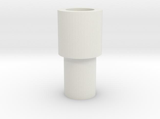 p1d in White Natural Versatile Plastic