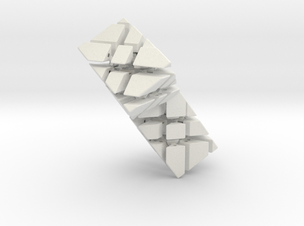 Double Triangular Prism 3d printed