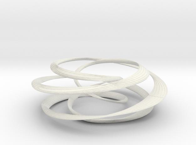 25 torus knot tube 3d printed