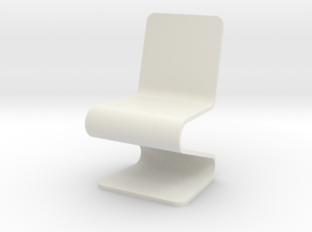 1:24 Acrylic Chair (Not Full Scale) 3d printed
