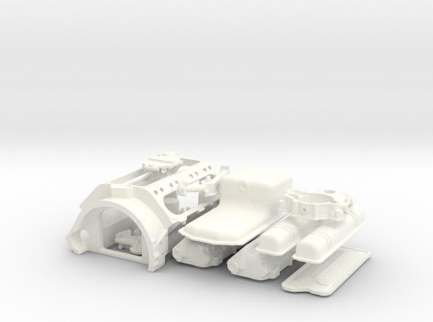 1/8 Scale Buick Nailhead Basic Block Kit 3d printed