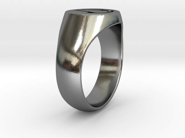 Assassin's Creed Ring 02 US9 in Polished Silver